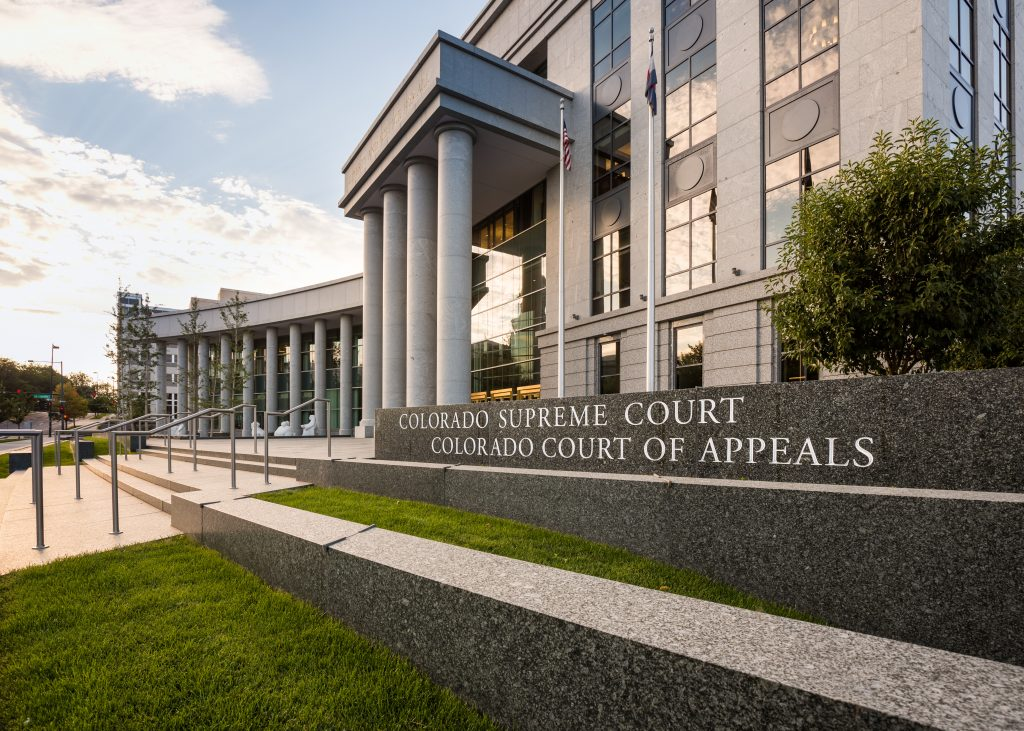 Colorado Supreme Court of Appeals